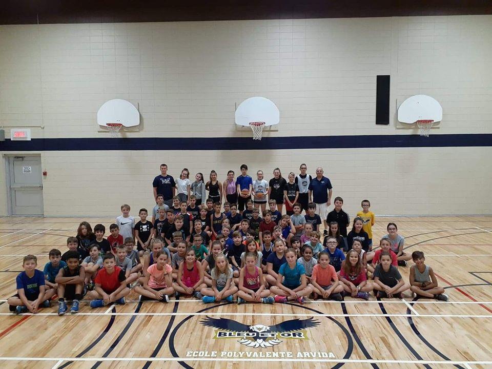 Camp d'été mini-basket